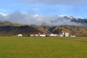Þorvaldseyri and a view to Eyjafjallajkull