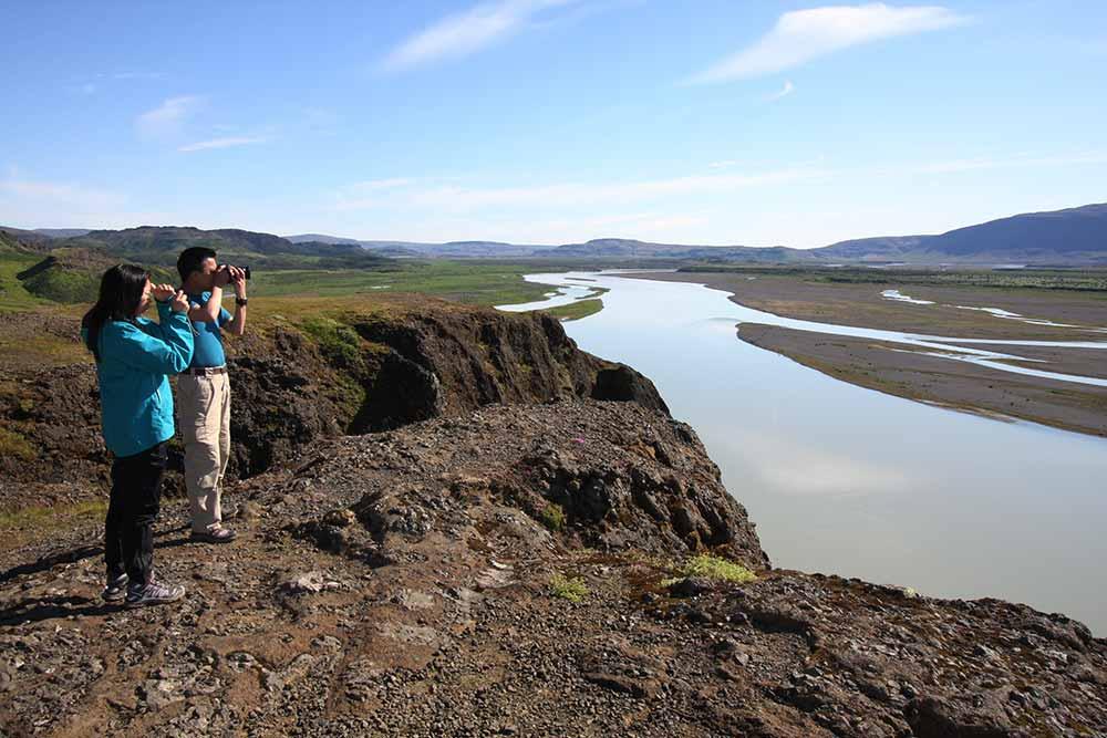 Gaukshöfði view point