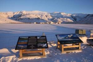 View to Eyjafjallajkull