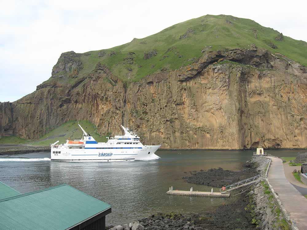 The ferry Herjólfur