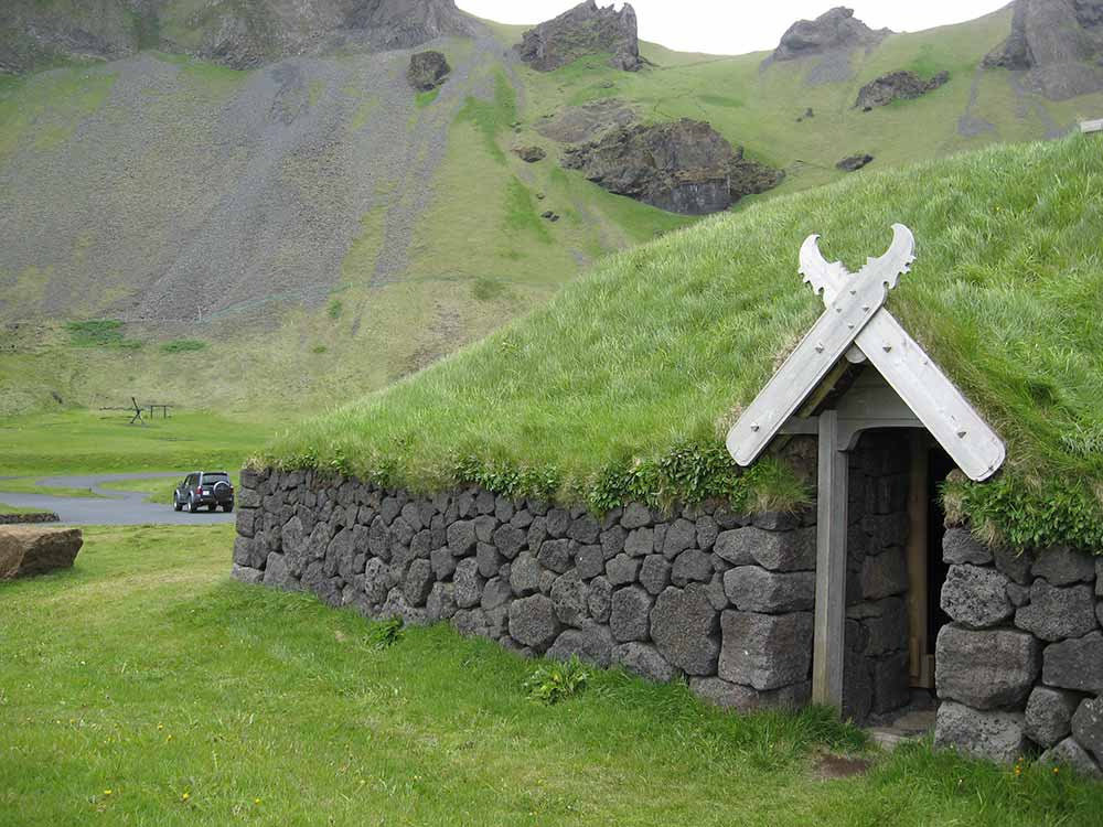 Old farmhouse in Westman Islands