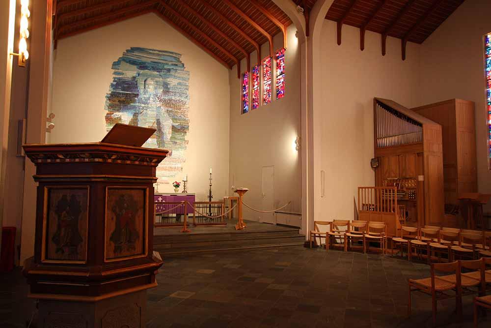 Skálholt church