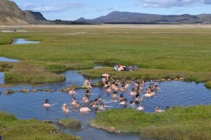 Landmannalaugar - hot pool