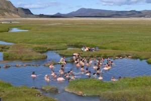 Landmannalaugar - hot pool