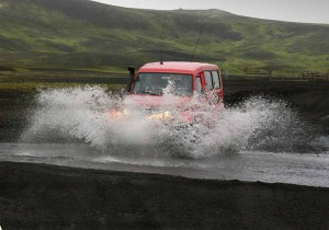 Rivers to cross at Fjallabak