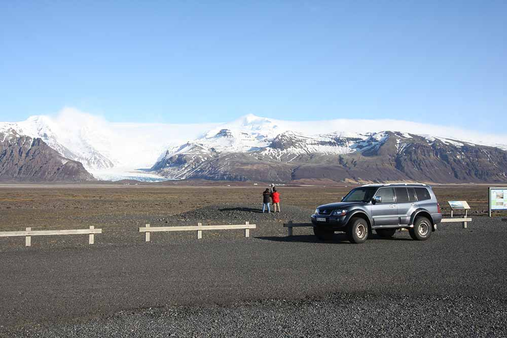 Öfæfajökull glacier
