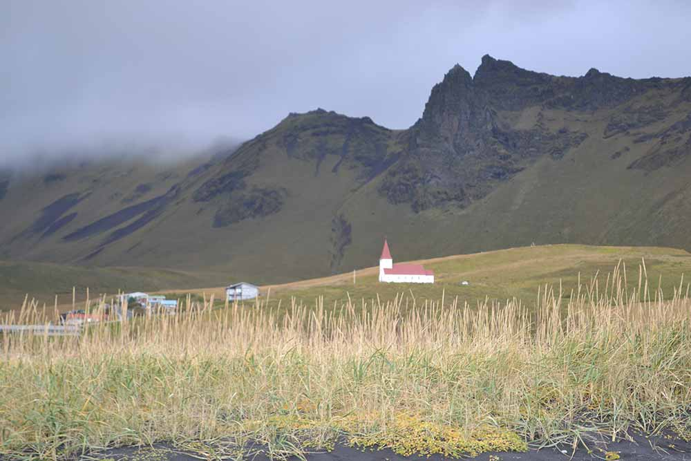 The Church at Vík