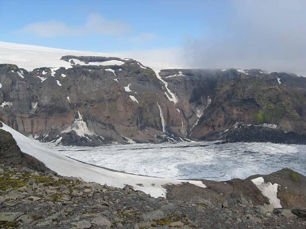 Katla glacier