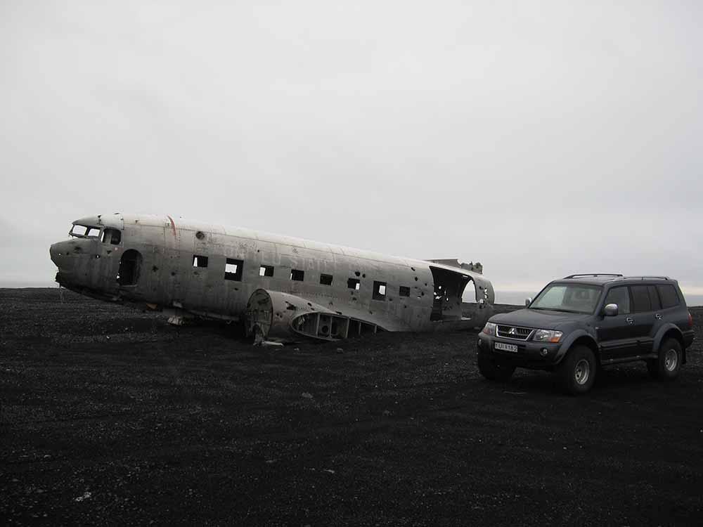DC-3 on the South coast