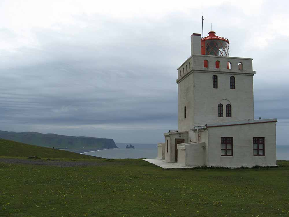 The light house at Dyrhólaey